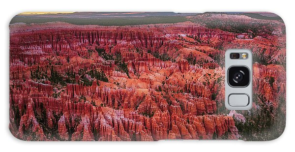 Bryce Canyon In The Glow Of Sunset Galaxy Case