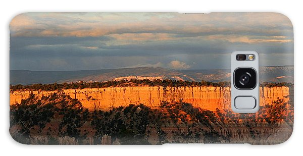 Bryce Canyon Sunset Galaxy Case by Laurel Talabere