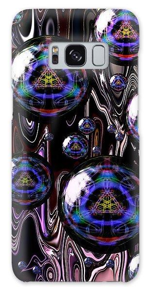 Bubble Abstract 1a Galaxy Case