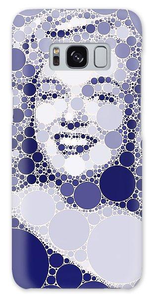 Majestic Galaxy Case - Bubble Art Marilyn Monroe by John Springfield