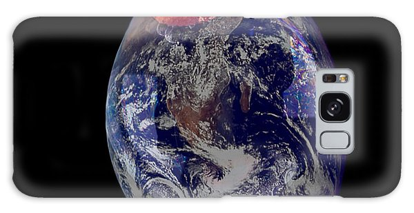 Bubble Earth Galaxy Case