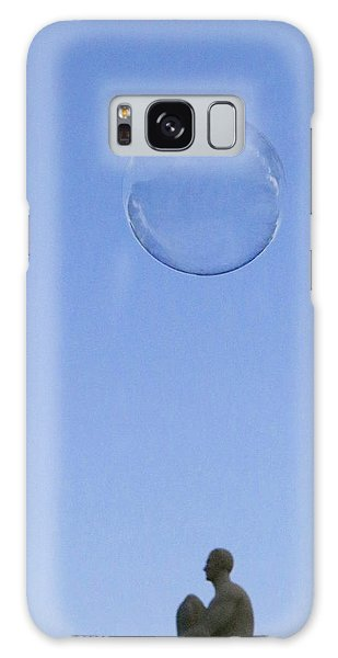 Galaxy Case featuring the photograph Bubbled by Rasma Bertz