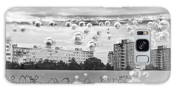 Bubbles And The City Galaxy Case by John Williams
