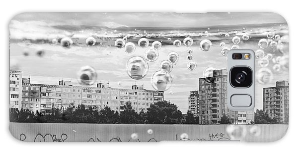 Bubbles And The City Galaxy Case