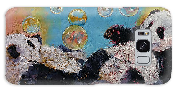 Wasted Galaxy Case - Bubbles by Michael Creese