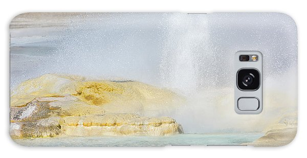 Galaxy Case featuring the photograph Bubbling Earth by Colleen Coccia
