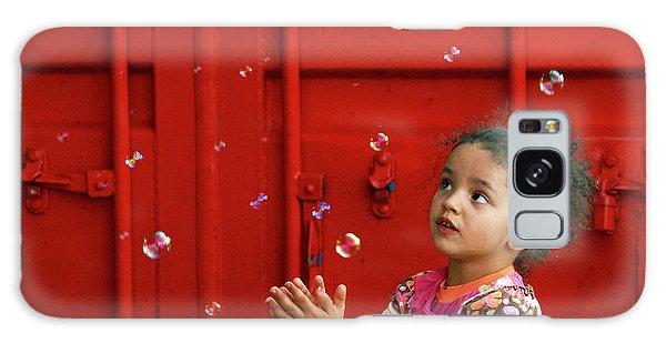 Bubbling Girl Galaxy Case by Aimelle