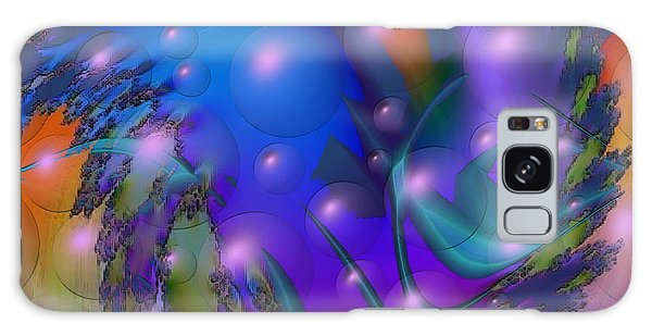 Bubbling Over With Enthusiasim Galaxy Case by Kevin Caudill