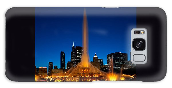 Buckingham Fountain Nightlight Chicago Galaxy S8 Case