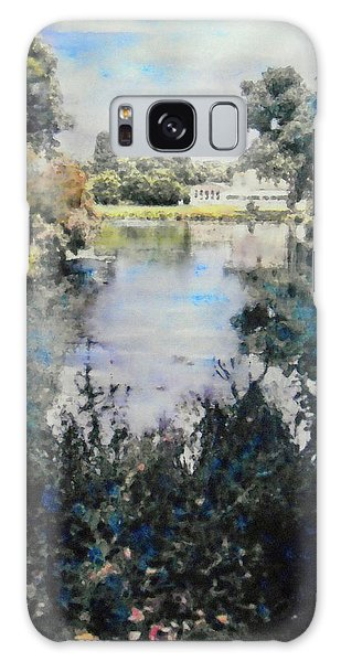 Buckingham Palace Garden - No One Galaxy Case by Richard James Digance
