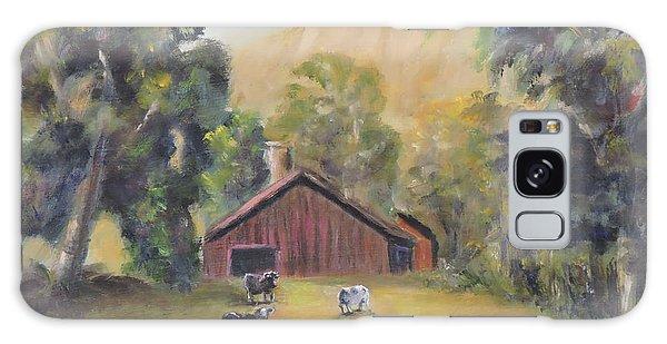 Bucks County Pa Barn Galaxy Case by Luczay