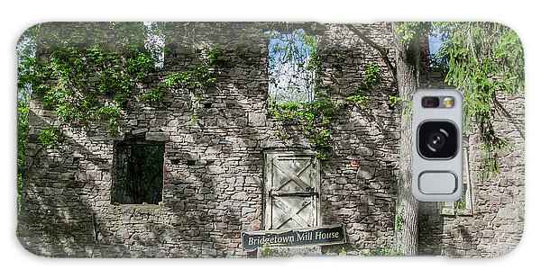 Bucks County Ruin - Bridgetown Mill House Galaxy Case by Bill Cannon