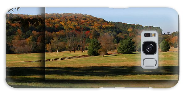 Bucks Mountain In Autumn Galaxy Case