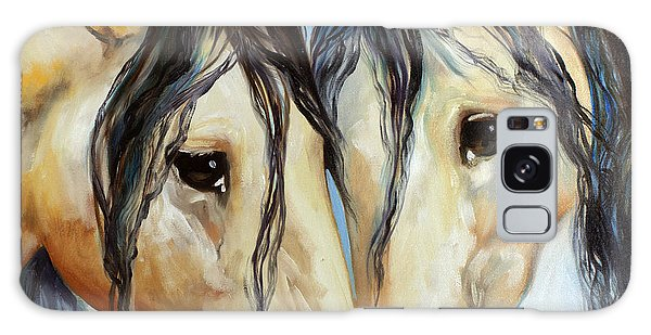 Buckskin Friends Galaxy Case