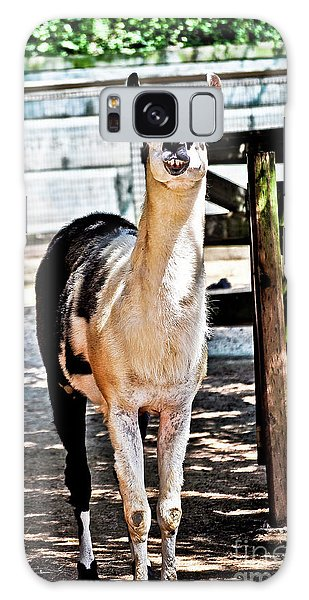 Bucktoothed Llama Galaxy Case