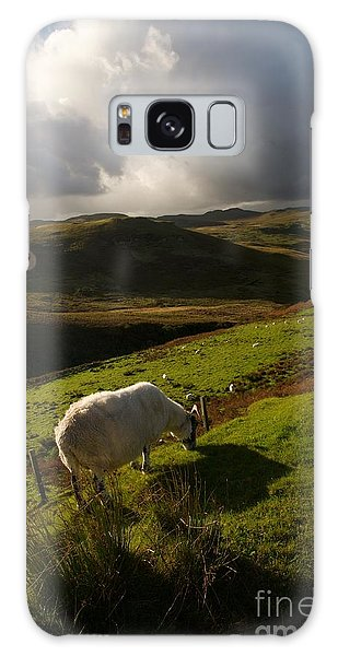 Bucolic Scotland Galaxy Case by Louise Fahy