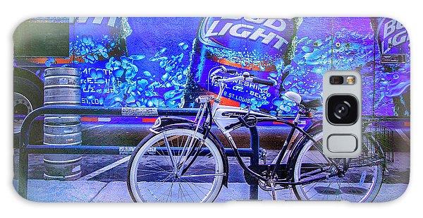 Bud Light Schwinn Bicycle Galaxy Case