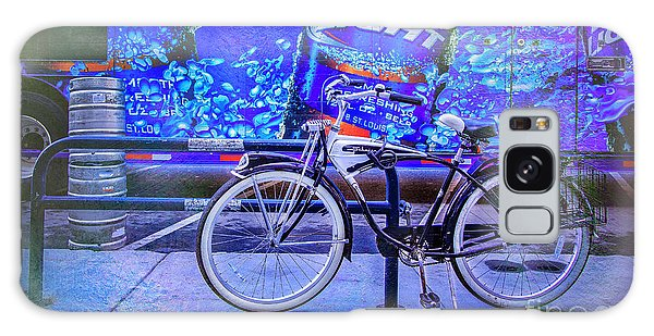 Bud Light Schwinn Bicycle Galaxy Case by Craig J Satterlee