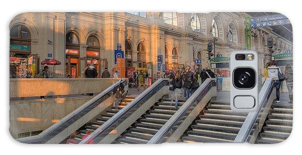 Budapest Train Station 2 Galaxy Case