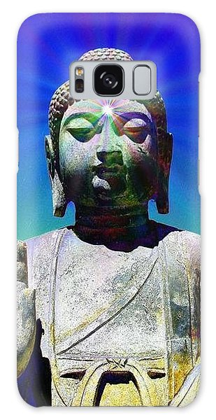 Buddha Blue Galaxy Case