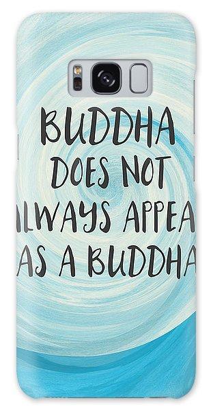 Buddha Galaxy Case - Buddha Does Not Always Appear As A Buddha-zen Art By Linda Woods by Linda Woods
