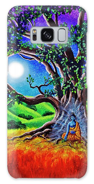 Buddha Healing The Earth Galaxy Case by Laura Iverson