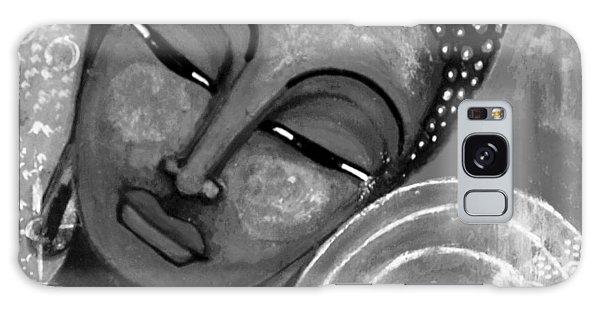 Buddha In Grey Tones Galaxy Case