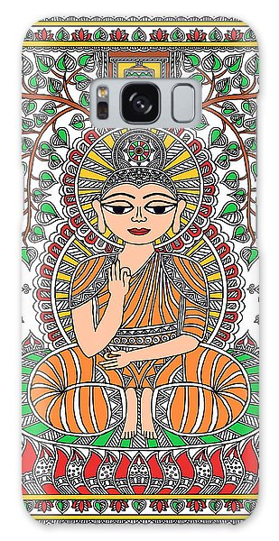Madhubani Galaxy Case - Buddha by Nupur Nishith