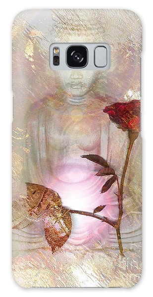 Galaxy Case - Buddha by Uldra Johnson