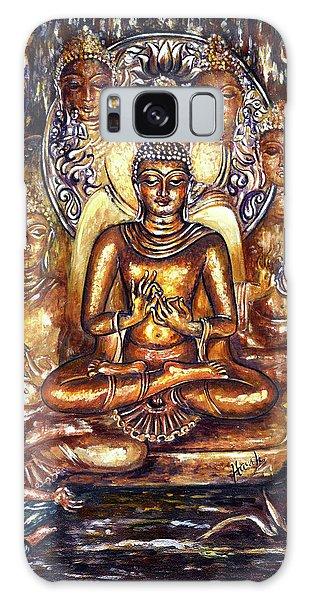 Buddha Reflections Galaxy Case by Harsh Malik