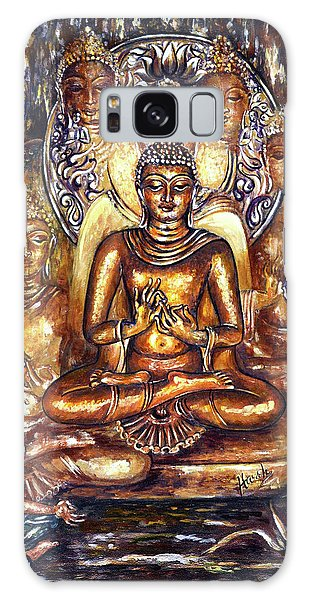 Buddha Reflections Galaxy Case