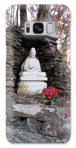 Dilapidation Galaxy Case - Buddha Statues 1 by Jeelan Clark