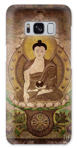 Buddha Thangka Silver Galaxy Case