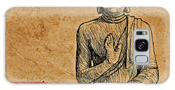 Buddha The Minimalist Galaxy Case