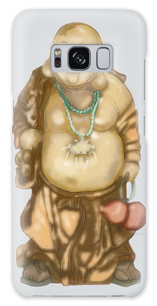 Galaxy Case featuring the mixed media Buddha by TortureLord Art