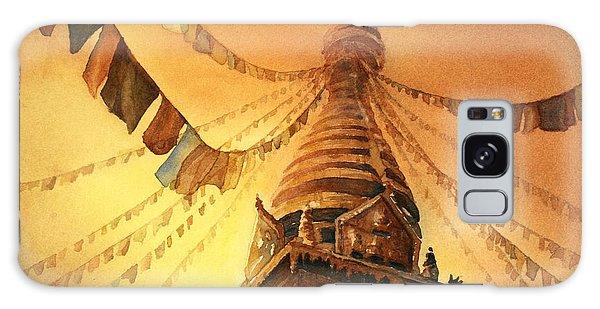 Buddhist Stupa- Nepal Galaxy Case
