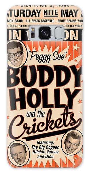 Sixties Galaxy Case - Buddy Holly by Gary Grayson