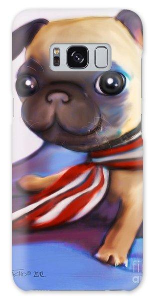 Buddy The Pug Galaxy Case by Catia Cho