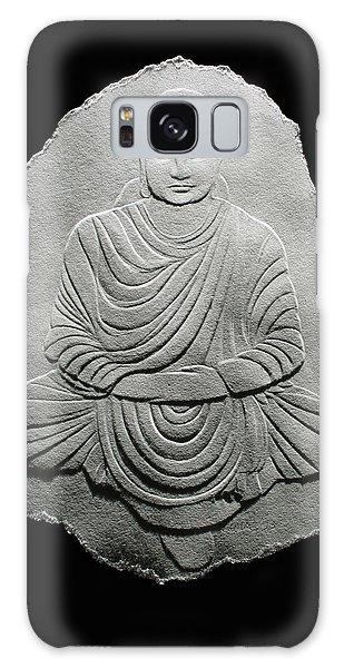 Budha - Fingernail Relief Drawing Galaxy Case