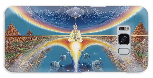 Budhistic Dreams Galaxy Case
