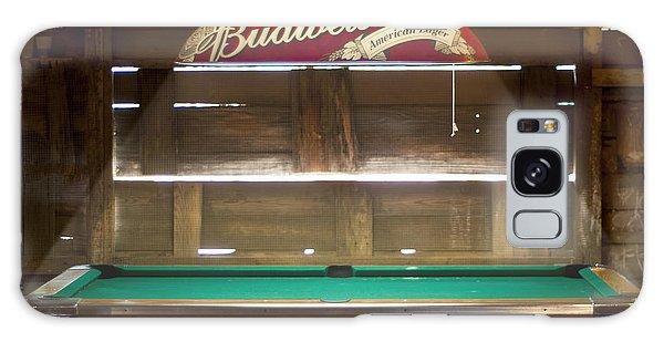 Budweiser Light Pool Table Galaxy Case