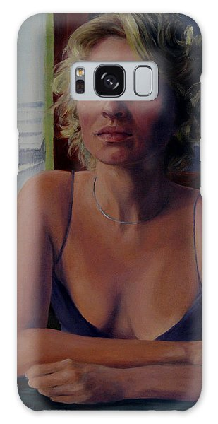 Buenos Aires One Sadness Galaxy Case by Connie Schaertl