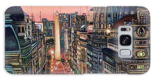 Buenos Aires Twilight Galaxy Case