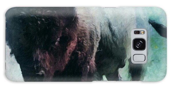 Buffalo American Bison Galaxy Case by Michele Carter