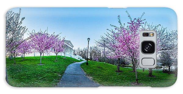 Buffalo Cherry Blossoms 1 Galaxy Case