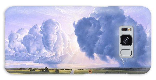 Americana Galaxy Case - Buffalo Crossing by Jerry LoFaro