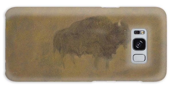 Buffalo In A Sandstorm Galaxy Case