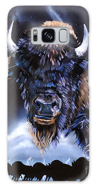 Buffalo Medicine Galaxy Case