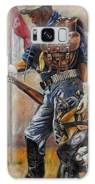 Western Galaxy Case - Buffalo Soldier Outfitted by Harvie Brown