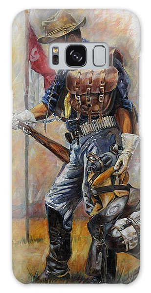 Buffalo Soldier Outfitted Galaxy Case by Harvie Brown